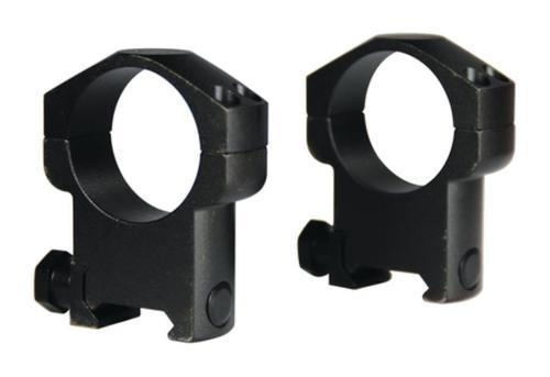"Leupold Mark 4 Ring Set 1"" Diam Medium Steel Black Matte"
