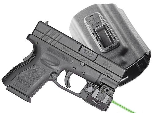 Viridian Weapon Technologies, C5L, Green Laser and Tactical Light, Fits Springfieldngfield XD/XDM, Includes TacLoc Holster