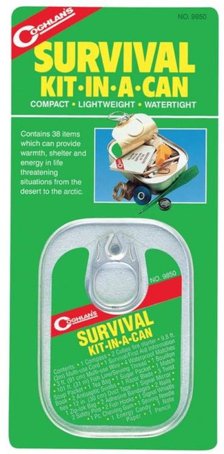 Coghlans Survival Kit In A Can