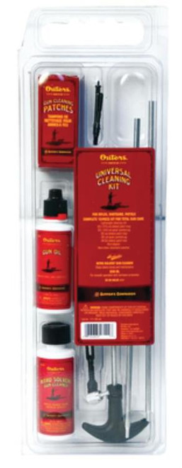 Outers Rifle Cleaning Kit .22 Caliber, Clamshell
