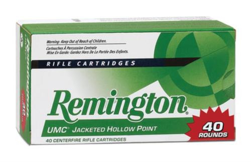 Remington UMC .22-250 Remington 50gr, Jacketed Hollow Point 40rd/Box
