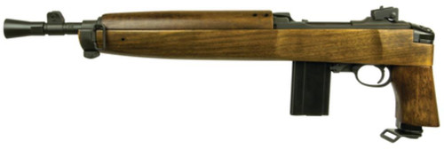 "Inland M1 Advisor Pistol .30 Carbine 12"" Threaded Barrel Peep Aperture Sight Walnut Stock 15rd Mag"