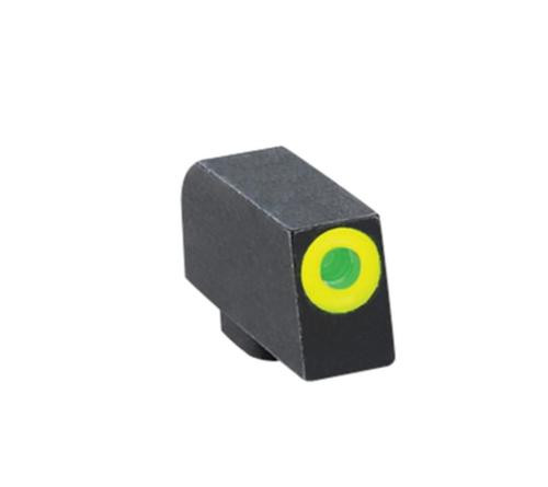 Ameriglo Front Tritium Night Sight For All Glock Green With LimeGreenLumi Outline .220 Height .140 Width