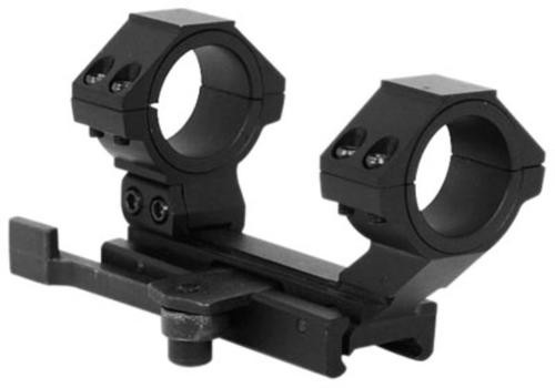 NCStar Quick Release Mount For AR-15/M16 Quick Release Weaver Style Black