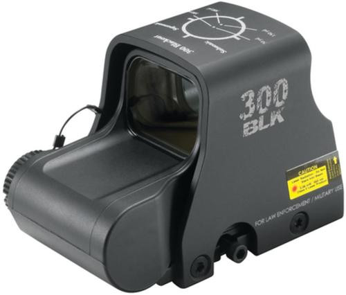 EOTech XPS2-300 Blackout 65 MOA Ring And Two 1 MOA Aiming Dots Black