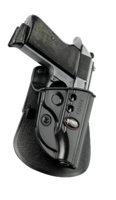Fobus Roto Evolution Paddle Walther PPK/PPKS Black Plastic