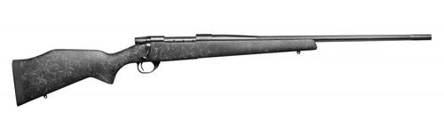 """Weatherby Vanguard Wilderness, .308 Win, 24"""" Fluted, Blued, Grey Composite Stock"""