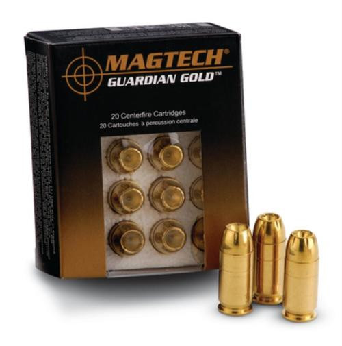Magtech Guardian Gold .40 SW 155gr, Jacketed Hollow Point, 20rd Box