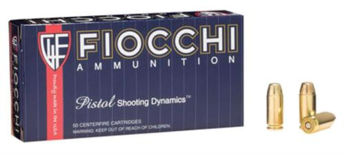 Fiocchi Shooting Dynamics .40 S&W 180gr, Jacketed Hollow Point 50rd Box