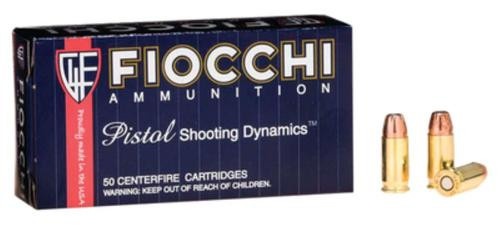 Fiocchi .32 ACP, 60 Gr, Jacketed Hollow Point, 50rd Box