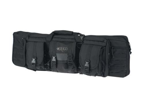"""Drago Gear 12-302BL Tactical Gun Case 36"""" 600 Denier Polyester Black"""