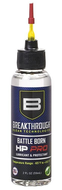 Breakthrough Clean Battle Born HP Pro Lube and Protectant Gun Oil 2oz