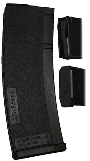 Plinker Tactical AR-15 30RD Magazine, Black