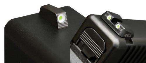 Hiviz Tritium Nitesight Set S&W M&P Full/Cmpct (Not M&P22) Green, White