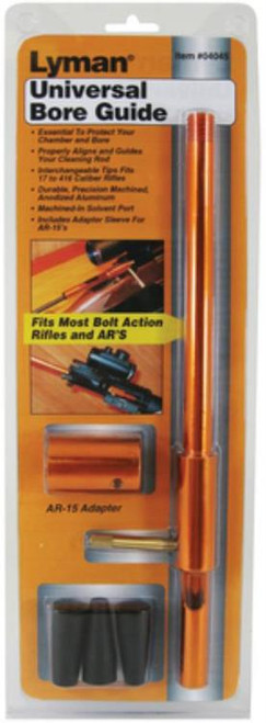 Lyman Universal Bore Guide Set Fits Most Bolt Action Rifles and AR's