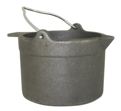 Lyman Cast Iron Lead Pot With Pour Spout 10 Pound Capacity