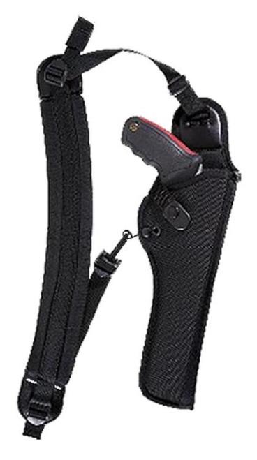 Bianchi 4100 Ranger Hush Shoulder Holster (Unscoped) 4100 8 Black Nylon