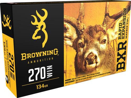 Browning BXR Rapid Expansion, .270 Win, 134 Gr, 20rd Box