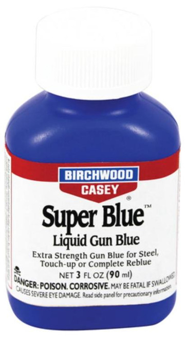 Birchwood Casey Super Blue Liquid Gun Gun Blue 3 oz