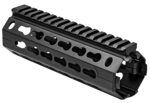 NcStar AR-15 KeyMod Handguard Carbine Length Two Piece Drop In, Black Aluminum