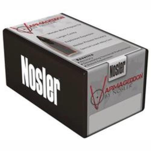 Nosler .22 Caliber .224 Diameter, 55 Gr, Polymer Tip Flat Base Bullets, 100/box