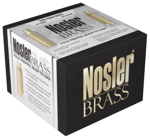 Nosler Reloading Unprimered Brass Custom 26 Nosler 25 Per Box