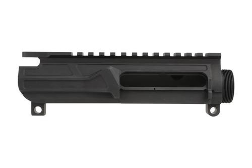 Odin Works Stripped AR-15 Upper Receiver, No Forward Assist, Includes Dust Cover, Black