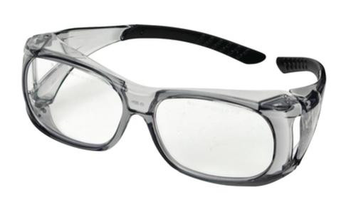 Champion Over-Specs Ballistic Clear Shooting Glasses