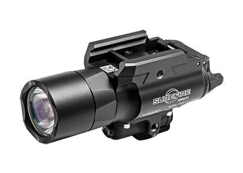 Surefire X400 Ultra LED WeaponLight, Green Laser 500 Lumens Alum Black