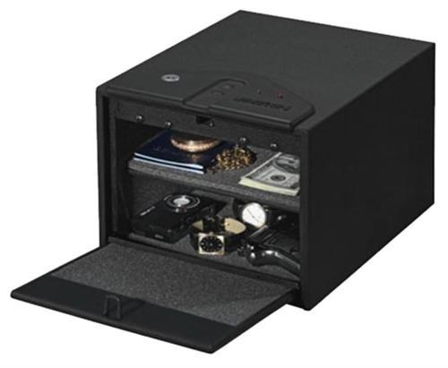 Stack-On Biometric Quick Access Gun Safe, Black
