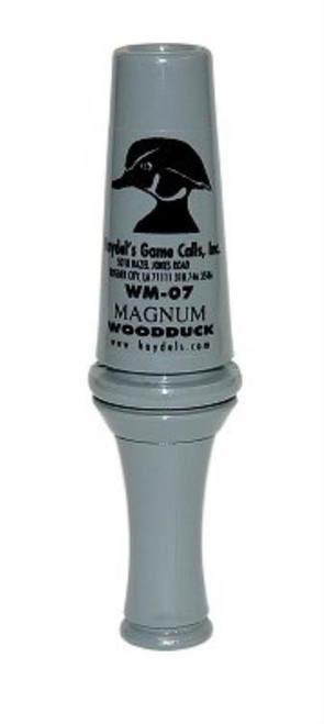 Haydels Magnum Wood Duck Single Reed Duck Call Acrylic