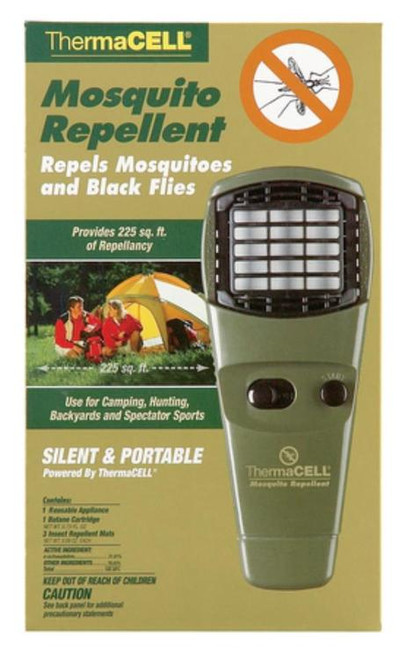 Thermacell Mosquito Repellent Unit With On/Off Turn Dial, Olive Green