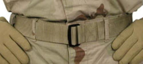 BlackHawk Universal BDU Belt, Large- Up to 52 Inch, Coyote Tan