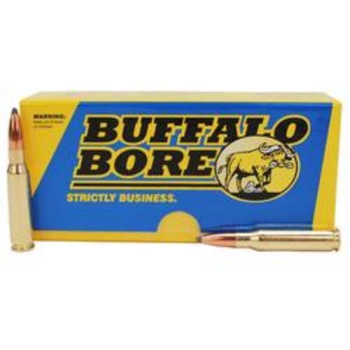 Buffalo Bore Ammo Rifle 308/7.62 Spitzer Supercharged 150 gr, 20rd Box, 12 Box/Case