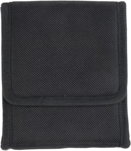 Bulldog Cases Ambidextrous Vertical Conceal Carry Holster Looks Like Cell Phone Holder Black Nylon For Sub-Compact Vertical .380 Autos