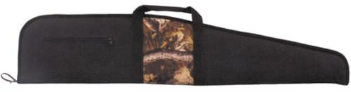Bulldog Cases Scoped Rifle Cases Black With Mossy Oak Camouflage Panel 48 Inch