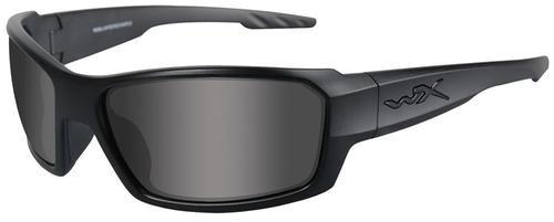 Wiley X Eyewear Rebel Safety Glasses Smoke Grey/Matte Black