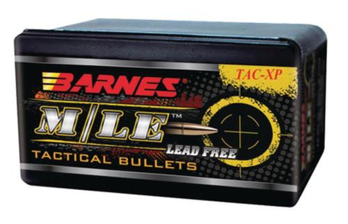 Barnes Tac-Xp Pistol Bullets Lead Free .357 Magnum Caliber .357 Diameter 125 Grain Flat Base