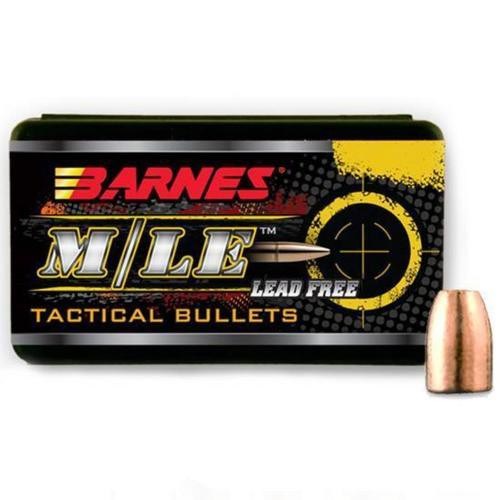 Barnes Bullets TAC-X .458 Caliber, 300 Gr, Tactical Boattail Rifle X Bullet, 50/Box, Not Loaded