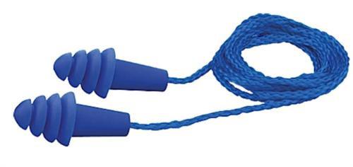 Elvex Corp Quattro Earplugs Blue