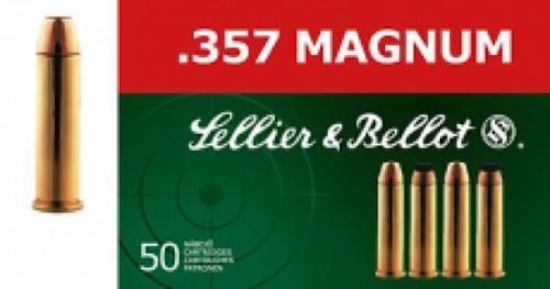 Sellier and Bellot 357 Magnum 158 LFN 50Rd/Box
