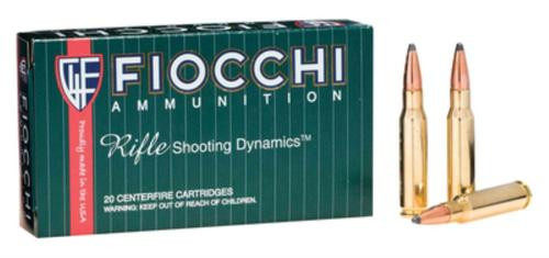 Fiocchi Shooting Dynamics .308 Win 150gr, Pointed, Soft Point, 20rd Box