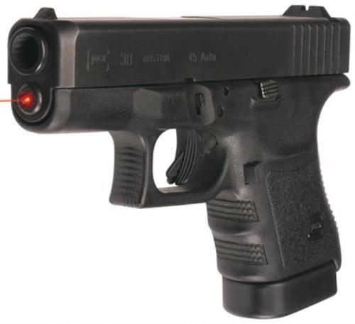 """LaserMax LMS-1191 Glock 29/30 Reg&SF Red 635nm .75""""@25yd 20yds Range"""