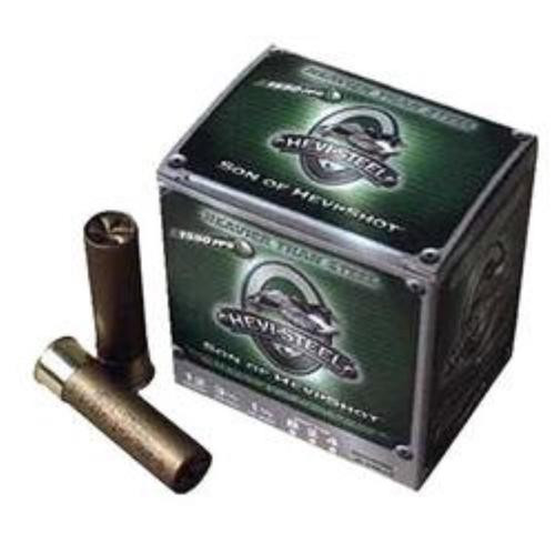 "HEVI-Shot Hevi-Steel 12 Ga, 3"", 4 Shot, 25rd/Box"