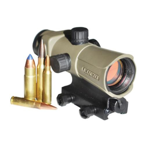 Lucid Hd7 Red Dot Sight Variable Reticle Flat Dark Earth