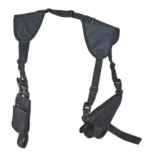 Bulldog Cases Deluxe Shoulder Horizontal Holster Size 15 Black Amibdextrous
