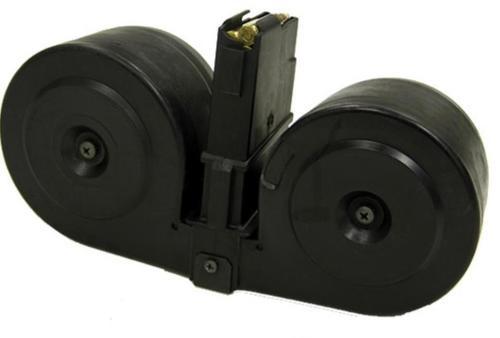 Beta C-MAG Ruger Mini 14 Drum Mag, 100 Round, Black