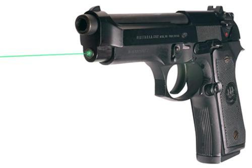 LaserMax Guide Rod Laser, Green, Beretta 92/96 Full Size, Taurus 92/99/100/10