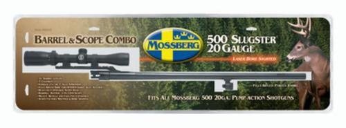 Mossberg Model 500 Extra Slug Barrel 20 Gauge 24 Inch Blued With 3-9X32mm Scope