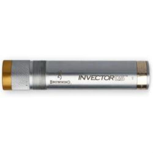 Browning Invector DS Extended 12 GA Skeet Silver, Gold Band